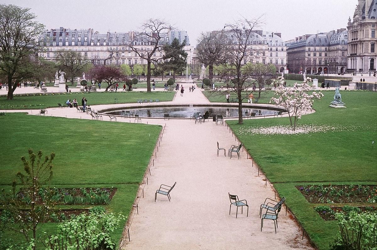 2. A Garden. A perfectly design French Garden