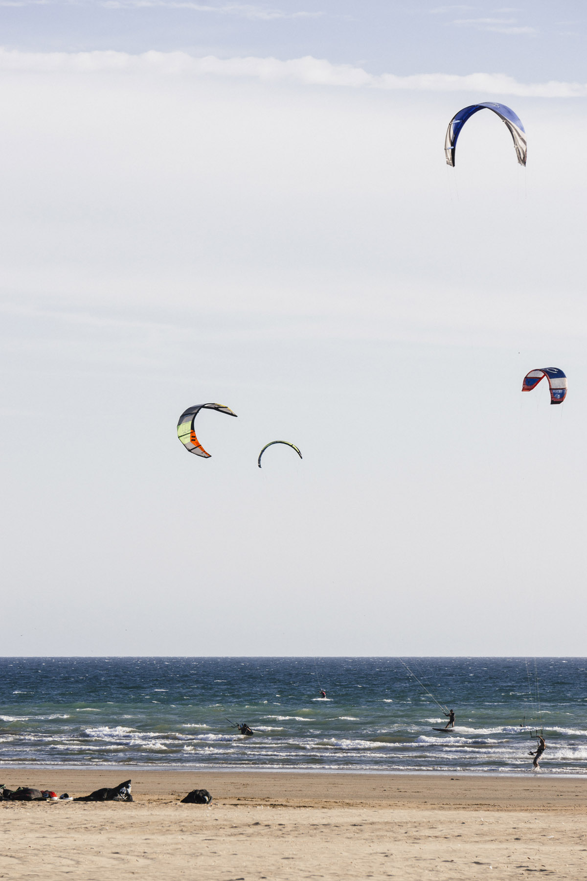 kitesurf at Punta Umbria, Huelva